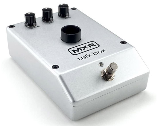 Example of a Talk Box Guitar Pedal