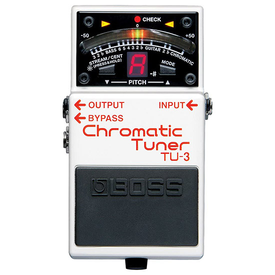 Example of a Tuner Guitar Pedal