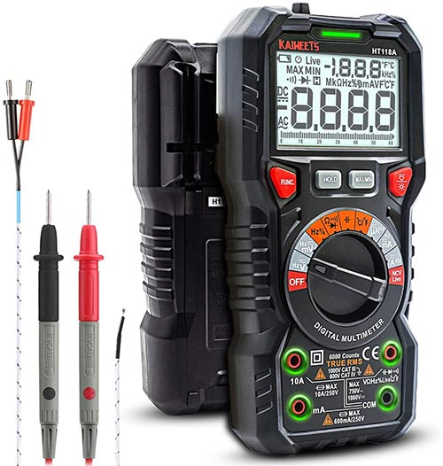 Good Multimeter for DIY Making Your Own Guitar Pedals