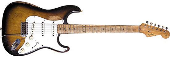 John Frusciante 1955 Fender Stratocaster Sunburst