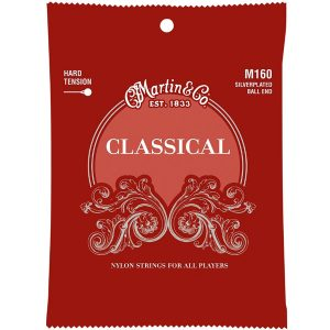 Martin M160 Classical Hard Tension Silverplated