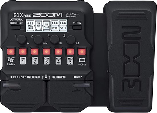 Zoom Brand Pedal