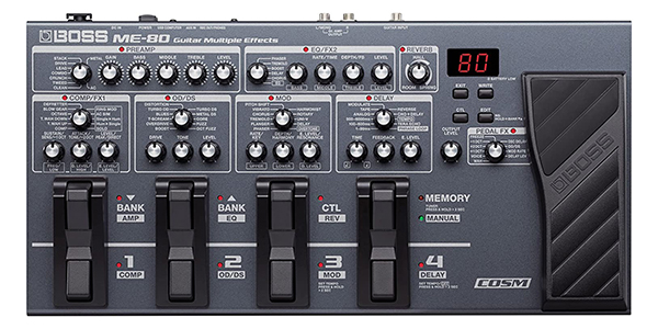 BOSS ME-80 Acoustic Guitar Multi Effects Pedal