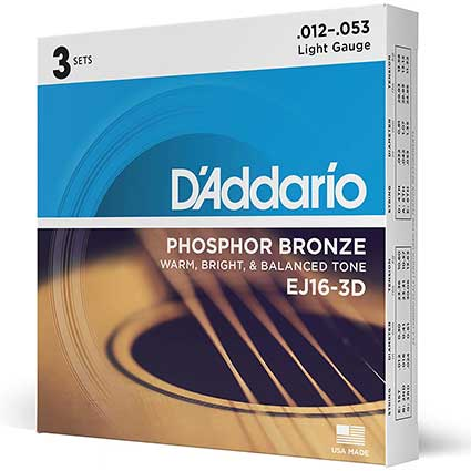 Daddario Balanced Tension XL Strings