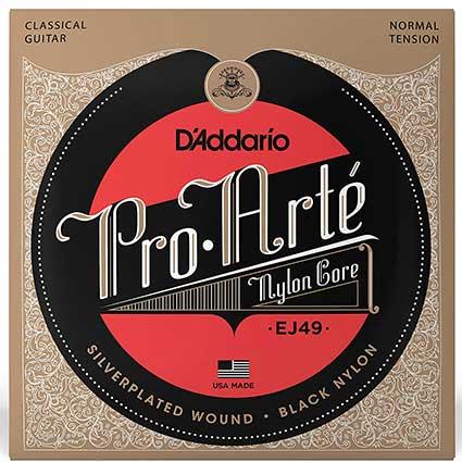 D'addario Pro Arte EJ49 Black