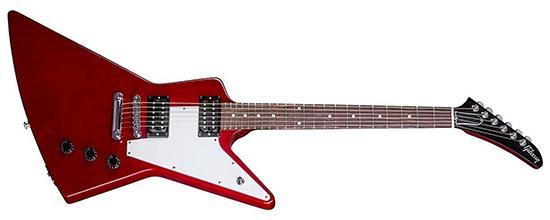 Example of Humbucker pickups Gibson Explorer