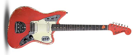John Frusciante 1962 Fender Jaguar Red