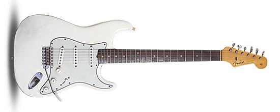 John Frusciante 1963 Fender Stratocaster White