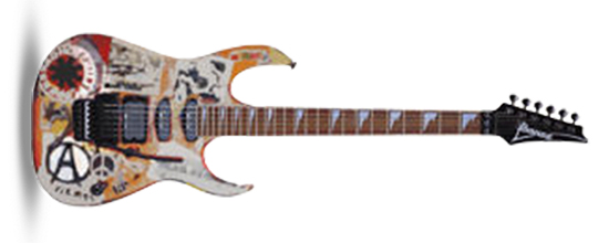 John Frusciante Ibanez RG760