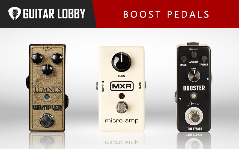 Some of the Best Boost Pedals (Featured Image)