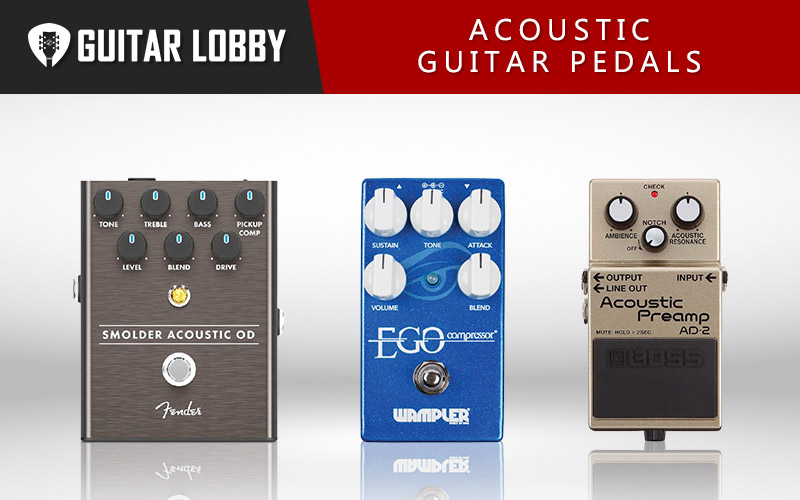 The Best Acoustic Guitar Pedals (Featured Image)