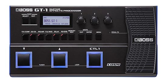 Boss GT1 Multi effect with Audio Interface