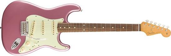2004 Fender Stratocaster, Burgundy Mist Finish