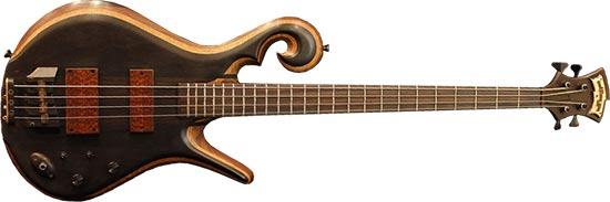 Les Claypool Carl Thompson Piccolo Custom Bass Guitar