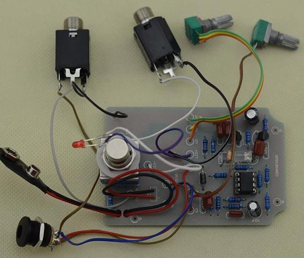 DIY Compressor Pedal Kit