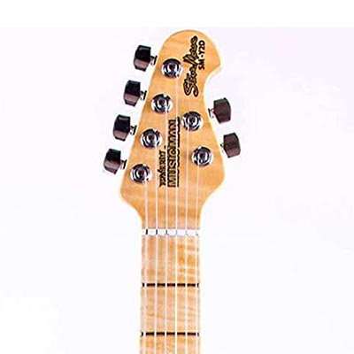 Example of a Earnie Ball Music Man Headstock Shape