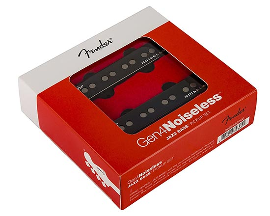 Example of noiseless bass pickup