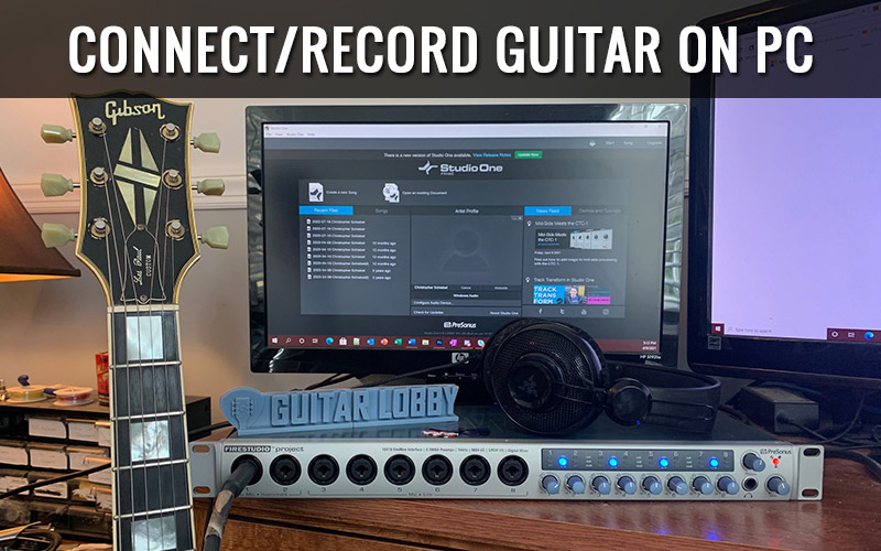 How to Record Guitar on PC (Featured Image)