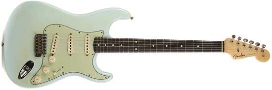 1962 John Cruz Fender Custom Shop Stratocaster Reissue