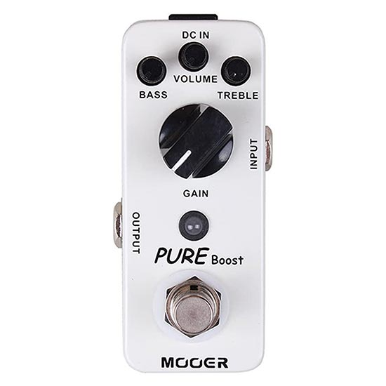 Mooer Pure Boost Pedal Malcolm Young