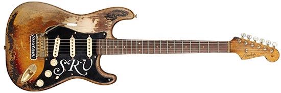 """2004 Fender Stevie Ray Vaughan """"Number One"""" Strat"""