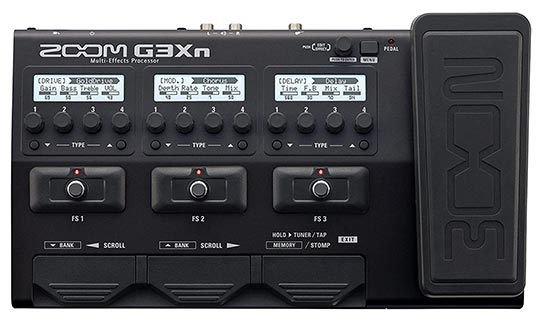 Zoom G3Xn Multi effect with Audio Interface