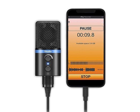 iRig Digital Studio Microphone for iPhone
