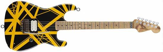 """1979 Eddie Van Halen II """"Bumblebee"""""""