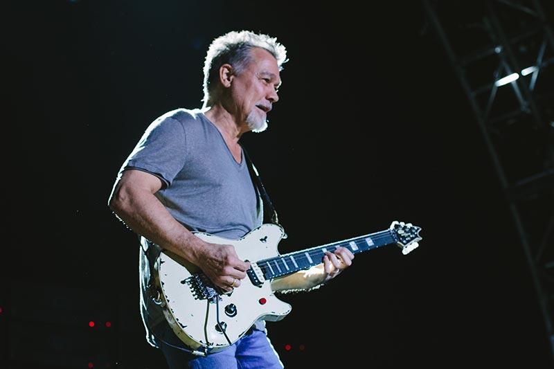 Eddie Van Halen Playing Guitar