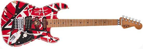 Eddie Van Halen Frankenstein V2 Guitar