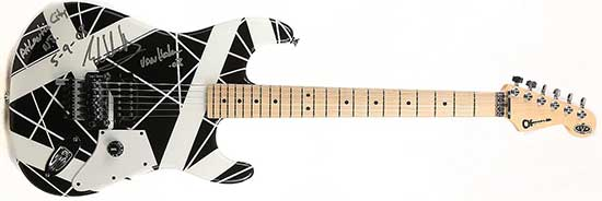 Another Charvel EVH Art Series Guitar