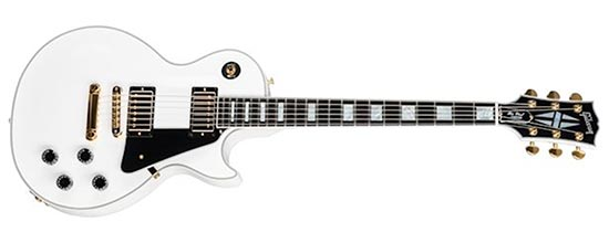 Jerry Cantrell White Gibson Les Paul Custom D-Trip