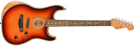 Kirk Hammett Acoustasonic Stratocaster