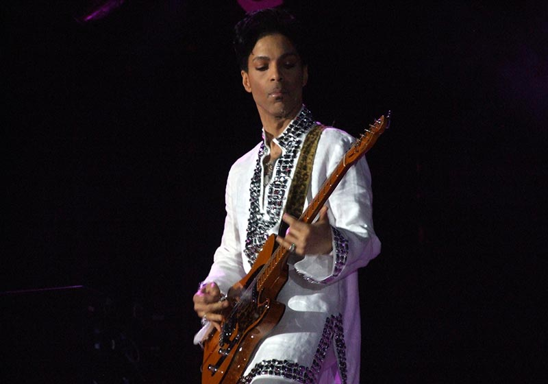Prince Guitars and Gear (Featured Image)