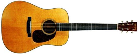 Unnamed Martin Acoustic Guitar Model