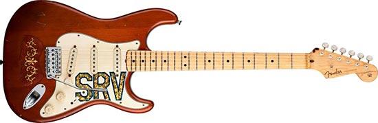 """Stevie Ray Vaughan 1963 Fender Stratocaster """"The Lenny"""""""