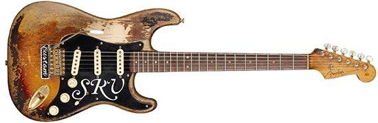 """Stevie Ray Vaughan 1963 Fender Sunburst Stratocaster """"Number One"""""""