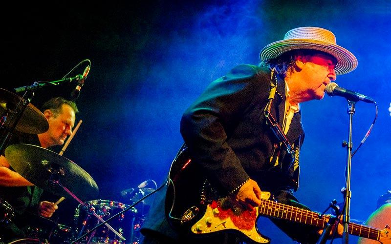 Bob Dylan Playing Guitar