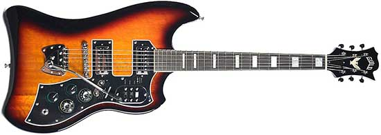 Dan Auerbach Guild S-200 Thunderbird Guitar