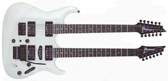 Paul Gilbert Ibanez PGM Double-Neck Guitar