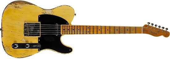Fender Custom Shop Relic '51 Nocaster