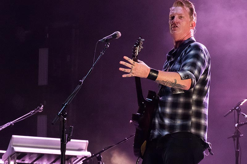 Josh Homme Playing Guitar Live