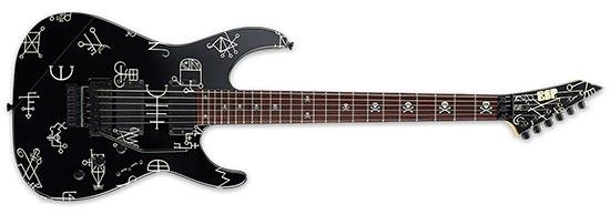 Kirk Hammett ESP Demonology