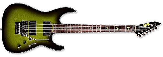 Kirk Hammett ESP LTD KH-2 Greenburst