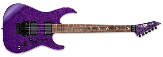 Kirk Hammett ESP Purple Sparkle