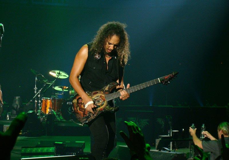 Kirk Hammett Playing Guitar