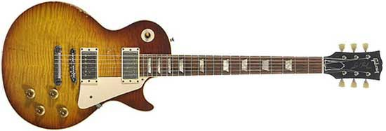 """Billy Gibbons 1959 Gibson Les Paul Standard """"Pearly Gates"""""""