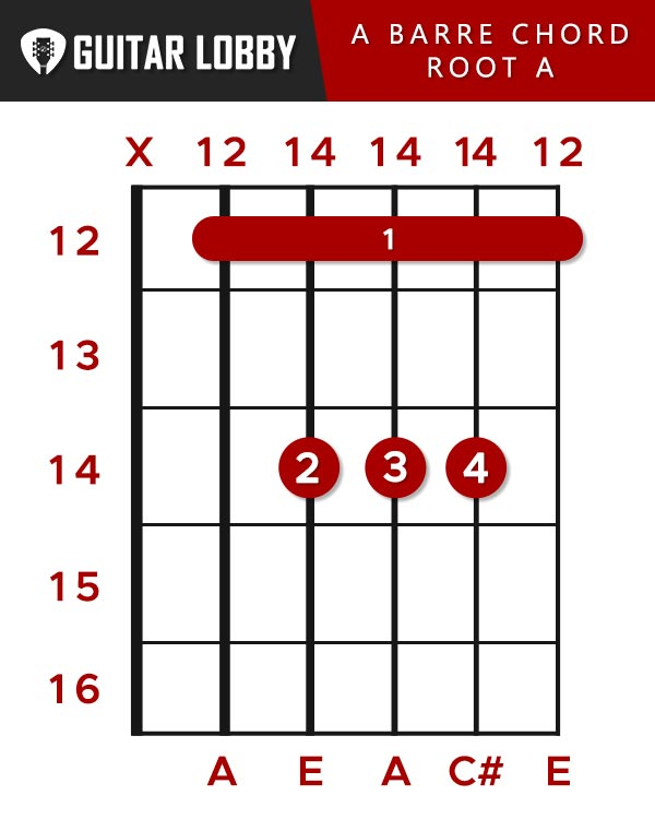 A Barre Chord Root A String