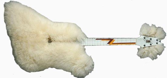 "Billy Gibbons Dean Z ""Fur Guitar"""