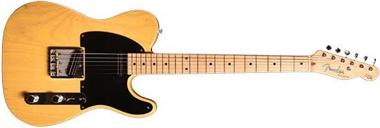 Fender Custom Shop Danny Gatton Telecaster Black Pickguard